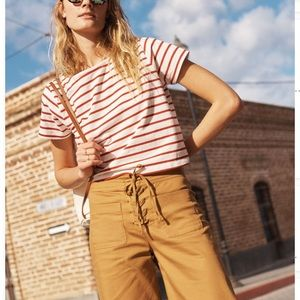 Madewell cropped pants